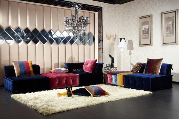 5 idejos sienu dekorui